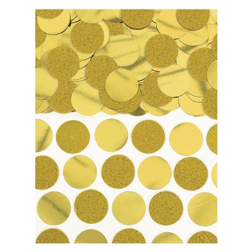 Gold Foil Circle Confetti 63g